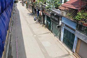 Dân Hạ Đình sơ tán, đóng cửa hàng quán vì sợ nhiễm độc thủy ngân
