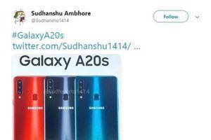 Rò rỉ thông số kỹ thuật Samsung Galaxy A20s với dung lượng pin 4000mAh