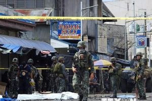Đánh bom liều chết gần doanh trại quân đội Philippines