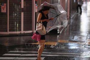Siêu bão Faxai đổ bộ Nhật Bản
