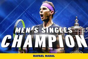 Nadal 'chật vật' vượt qua đàn em Medvedev, đăng quang ngôi vô địch Mỹ mở rộng