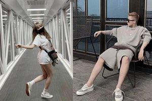 Lộ ảnh Thiều Bảo Trâm tiếp tục dùng đồ đôi với Sơn Tùng M-TP