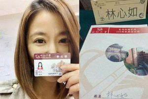 Lâm Tâm Như quyết tâm trở lại trường Đại học ở tuổi 43, khoe việc bắt đầu học tiến sĩ