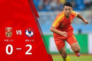 Dư luận Trung Quốc nổi sóng vì đội tuyển Olympic Trung Quốc thua trắng đội U22 Việt Nam