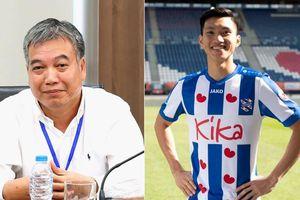 Chủ tịch Hà Nội FC lần đầu tiết lộ về hợp đồng xuất ngoại của Văn Hậu
