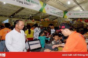 Siêu thị Tứ Sơn đưa hàng Việt về nông thôn huyện Thoại Sơn, Châu Thành và Phú Tân