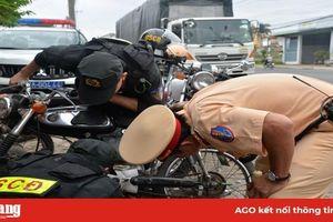 Xử phạt hành chính 640 trường hợp vi phạm trật tự an toàn giao thông