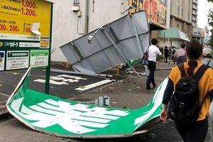 Siêu bão đổ bộ làm gián đoạn nhịp sống của 30 triệu người dân Tokyo