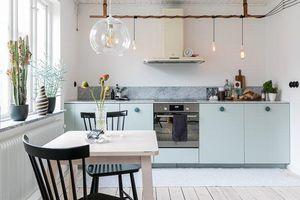 Nhà bếp nhỏ ở chung cư sẽ 'lột xác' thoáng rộng trông thấy nhờ những ý tưởng siêu hay này
