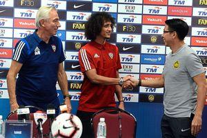 Tiền vệ 'tóc xù' UAE 'vỗ về' á quân AFF Cup