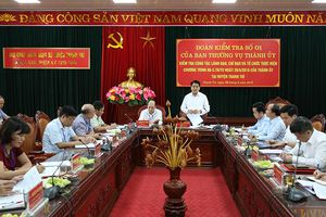 Chủ tịch Nguyễn Đức Chung: Tích hợp các đoàn kiểm tra, giám sát để cải cách hành chính