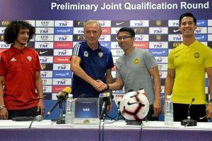 UAE thận trọng trước trận đối đầu Malaysia