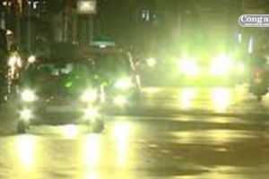 Mọi phương tiện ô-tô lắp ráp thêm đèn chiếu sáng sai quy định sẽ bị từ chối kiểm định