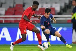 Vòng loại World Cup 2022 (bảng G): Thái Lan thắng trận đầu tiên