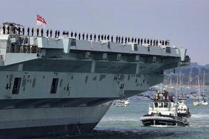 Trung Quốc cảnh báo Anh định đưa tàu sân bay đến biển Đông