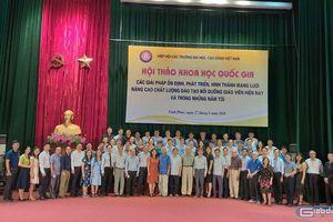 Hiệp hội kiến nghị Thủ tướng về củng cố, phát triển các cơ sở đào tạo giáo viên