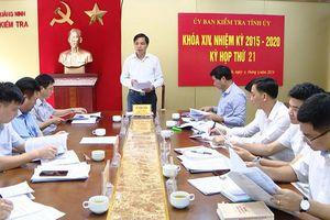 Phó giám đốc BQL dự án huyện Bình Liêu bị khai trừ khỏi Đảng