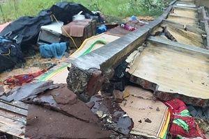 Thái Nguyên: Sập tường sau mưa lớn, 3 thợ xây tử vong
