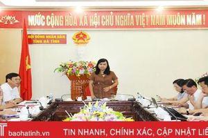 Giám sát toàn diện công tác quản lý, khai thác, sử dụng rừng, đất lâm nghiệp ở Hà Tĩnh
