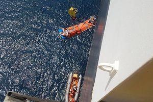 Đưa thuyền viên tàu Panama trên vùng biển Hoàng Sa vào Đà Nẵng cấp cứu