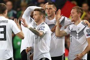 Kết quả bóng đá: Tuyển Đức chiếm ngôi đầu, Bỉ thắng tuyệt đối
