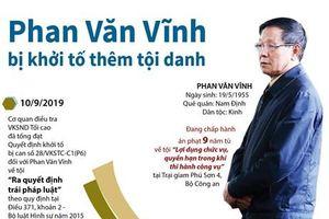 Khởi tố thêm tội danh đối với Phan Văn Vĩnh