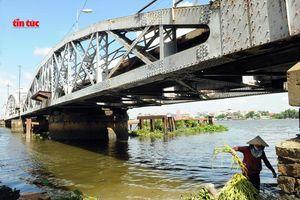Cầu sắt Bình Lợi 117 năm tuổi trước ngày hoàn thành sứ mệnh