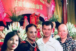 NSND Trung Anh, Hoàng Cúc hội tụ trong lễ cúng Tổ sân khấu