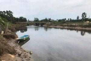 Hà Tĩnh: Xuất hiện cá sấu dưới sông cầu Đông
