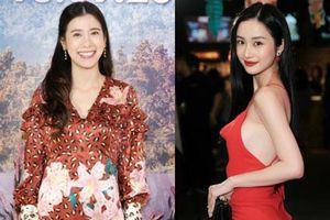 Jun Vũ điện đầm hở bạo chặt đẹp mỹ nhân Thái Esther kín cổng cao tường tại họp báo Thách Yêu 2 Năm