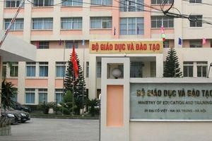 Bộ GD&ĐT hủy quyết định xem xét kỷ luật 13 cán bộ