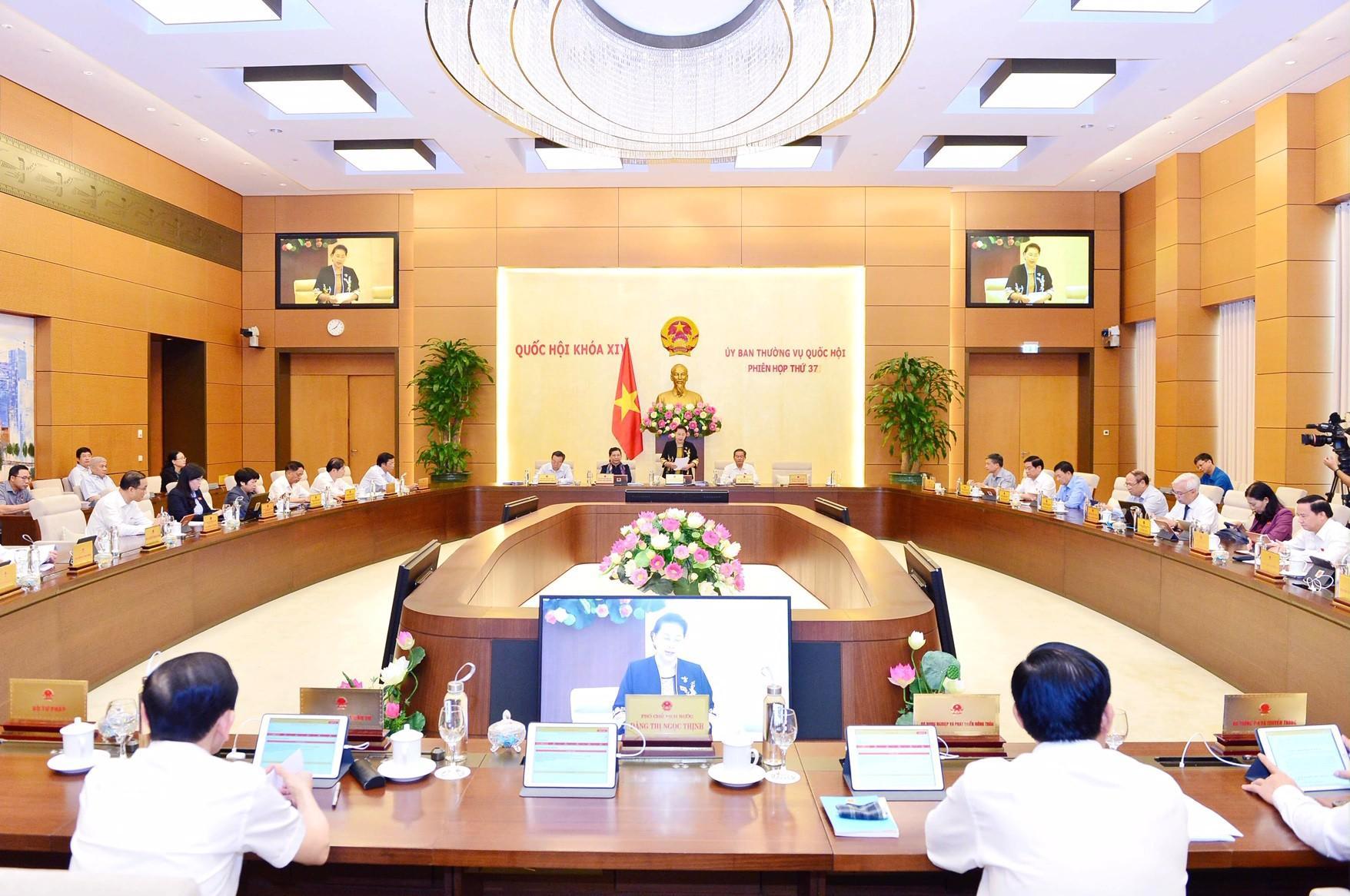 UBTVQH cho ý kiến về Dự án Luật Chứng khoán (sửa đổi)