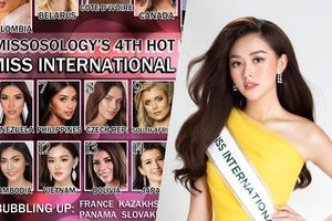 Tường San được Missosology dự đoán lọt Top 12 Hoa hậu Quốc tế: Tập Catwalk Bikini là vừa!
