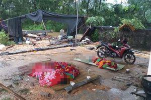 Sập tường rào vừa xây sau mưa lớn, 3 người bị gạch đè tử vong lúc rạng sáng