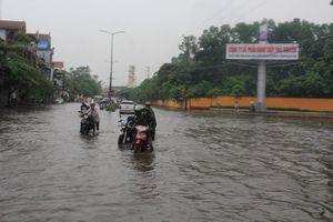 Thái Nguyên: Mưa lớn gây sập tường khiến ba người tử vong