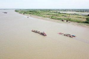 Thái Bình: Tăng cường quản lý cát, sỏi lòng sông