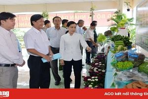 Chào mừng Đại hội tuyên dương nông dân sản xuất-kinh doanh giỏi huyện Châu Thành lần IX: Nông dân Châu Thành sáng tạo, thi đua sản xuất-kinh doanh giỏi