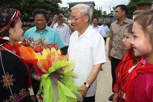 Tổng Bí thư, Chủ tịch nước Nguyễn Phú Trọng gửi thư chúc Tết Trung thu năm 2019