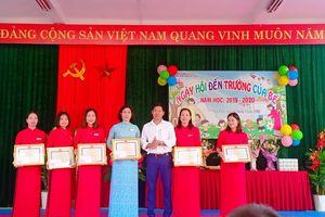 Trường Mầm non Văn Tiến: Ngọn cờ đầu giáo dục mầm non huyện Yên Lạc