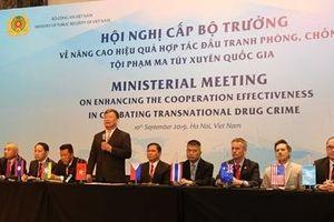'Không một quốc gia đơn lẻ nào có thể tự mình giải quyết vấn nạn ma túy'