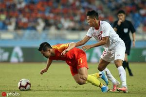 Nỗi sợ thua Việt Nam thành hiện thực, bóng đá Trung Quốc tan giấc mộng siêu cường?