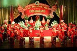 Kỷ niệm 10 năm Ngày Sân khấu Việt Nam