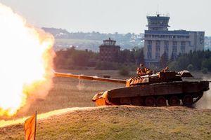 Nga đưa 10 'chiến tăng bay' T-80 đến hạm đội Thái Bình Dương
