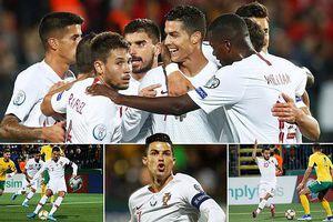 Ronaldo lập Poker đi vào lịch sử, 'ông lớn' ra oai ở Euro 2020