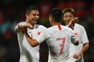 Cầu thủ nhập tịch giúp Trung Quốc thắng 5-0 ở vòng loại World Cup 2022