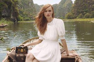 Dàn mẫu Louis Vuitton đến Ninh Bình, Hội An quay quảng cáo túi