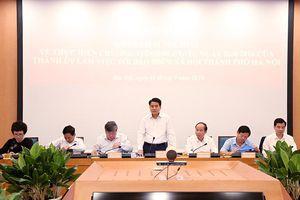 Chủ tịch Nguyễn Đức Chung: Rút ngắn các thủ tục hành chính để tạo thuận lợi tối đa cho người dân