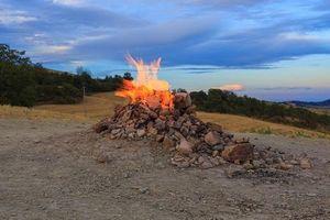 Chiêm ngưỡng 'ngọn núi lửa của Hoàng tử bé'