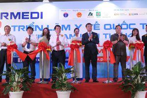 600 gian hàng tham gia trưng bày tại triển lãm y tế quốc tế Việt Nam lần thứ 14