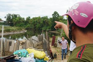 Tìm bắt cá sấu xuất hiện trên sông ở Hà Tĩnh